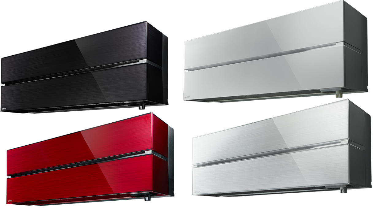 climatisation reversible inverter msz fh25ve muz fh25vehz. Black Bedroom Furniture Sets. Home Design Ideas